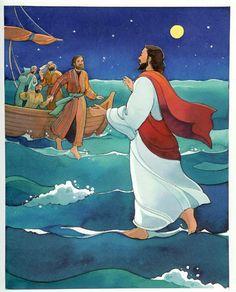 JESUS+ANDA+SOBRE+EL+MAR.jpg (565×700)