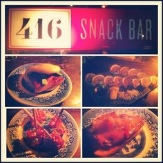 Amazing modern snack food served tapas style at 416 Snack Bar in Toronto http://girlsandgrub.blogspot.ca/2012/10/416-snack-bar.html?m=1