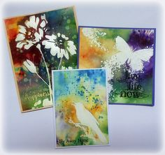 Susanne Rose - Papierkleckse: Brushos and Embossing - Video Tutorial