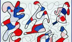 In de stijl van Jean Dubuffet Art Lessons For Kids, Artists For Kids, Art Lessons Elementary, Art For Kids, Drawing Sheet, 5th Grade Art, Ecole Art, School Art Projects, Middle School Art