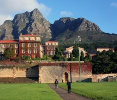 My alma mater, University of Cape Town.