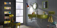 POP Tiles, bathroom modern ceramic double firing [AM POP 2]
