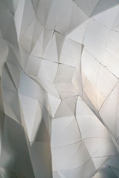 Tessellated snow cave