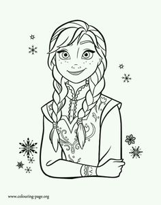 19 Best Frozen Coloring Pages Images Frozen Coloring Pages
