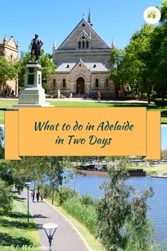 Adelaide is a lovely city but how much can you see in Adelaide in two days? Turns out you can see and do a lot in this city in two days. Australia Tours, Visit Australia, South Australia, Western Australia, Australia Travel, Melbourne To Adelaide, History Of Wine, Boat Hire, Australian Native Garden