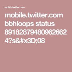 mobile.twitter.com bbhloops status 891828794809626624?s=08