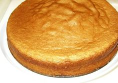 Bizcocho con stevia y sin grasa Diabetic Cake, Diabetic Desserts, Diabetic Recipes, Healthy Recipes, Sugar Free Recipes, Sweet Recipes, Tortas Light, Diabetes, Sin Gluten