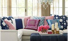 5 ideas para decorar con telas.