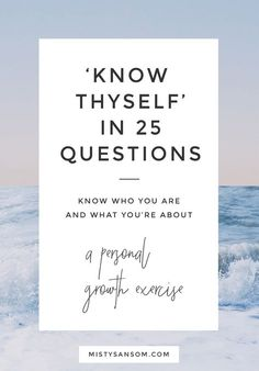 An article I wrote for the Huffington Post on 25 questions you can ask to know yourself just that little bit more. Knowing who you are and what you want is the first step in finding your purpose. Click through to read the post!
