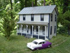 2 story house on Richlawn Railroad - Model Railroader Magazine - Model Railroading, Model Trains, Reviews, Track Plans, and Forums
