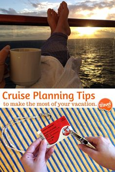 Helpful cruise planning tips so you can make the most of your cruise vacation. From travel and food expert Rachelle Lucas of TheTravelBite.com.