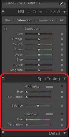 How to Use the Split Toning Tool in Lightroom by Megan Curren Photography for iHeartFaces.com