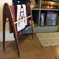 Burt - Blanket rack  http://www.etsy.com/listing/177958662/burt-blanket-rack