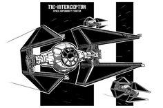 interceptor tie fighter - Pesquisa Google