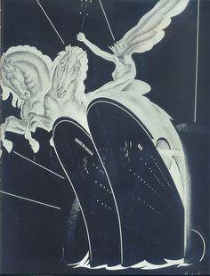 Italian Line travel poster, 1932