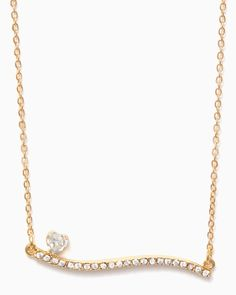 charming charlie | Inclined to Love Necklace | UPC: 410007173919 #charmingcharlie