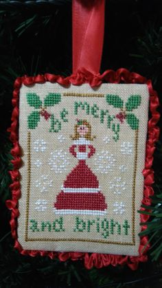 lhn Be Merry 32 c Finish idea from the Twisted Stitcher
