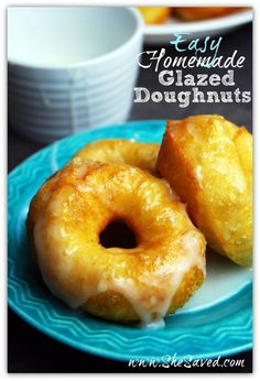 Easy Homemade Glazed Doughnut Recipe