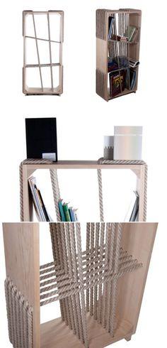book shelf DIY bokhylla