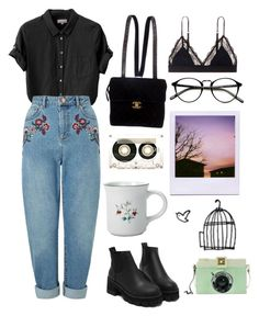 """""""Untitled #124"""" by chickensoup456 ❤ liked on Polyvore featuring Margaret Howell, Miss Selfridge, Pfaltzgraff, Chanel, LoveStories and CASSETTE"""