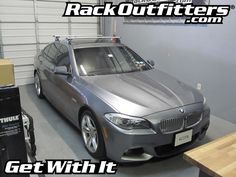 Rack Outfitters - BMW 5 Series Sedan Thule Rapid Podium AeroBlade Base Roof Rack, $381.85 (http://www.rackoutfitters.com/bmw-5-series-sedan-thule-rapid-podium-aeroblade-base-roof-rack/)