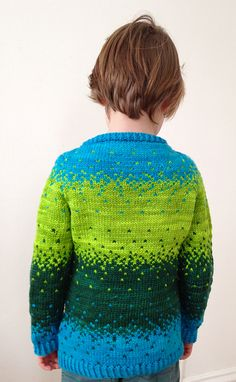 Ravelry: Little Pixels Pullover pattern by Jennifer Beaumont