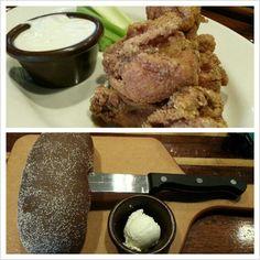 #kookaburra #chicken#wings #bread #yummy#food#philippines