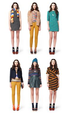 liking the bold colors and patterns.... (and how come I've never heard of Gorman?)
