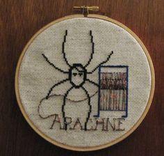 Arachne the weaver turned spider