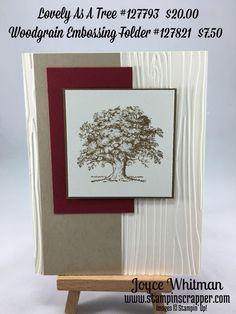 masculine Lovely As A Tree card by Joyce Whitman
