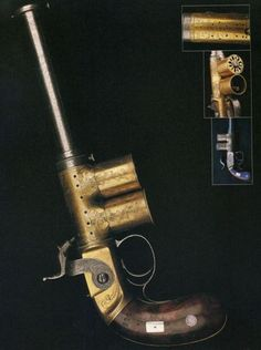 Percival & Smith Repeating Magazine Pistol, 1850. Find our speedloader now! www.raeind.com or http://www.amazon.com/shops/raeind
