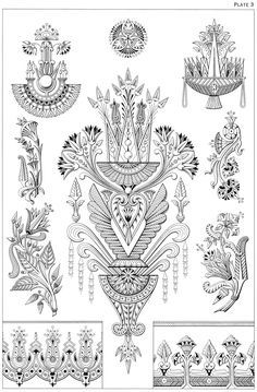 Welcome to Dover Publications - Egyptian Motifs in the Art Deco Style