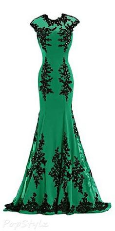 Green Prom Dress,Green Prom Dress,lace Prom Gown,Mermaid Prom Dresses,Sexy Evening Gowns,Cheap Evening Gown,Party Dress,Formal Gowns For Teens PD20181945