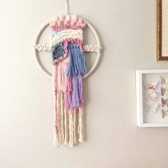 Etsy の Macrame Wall Hanging/Modern by ReformFibers