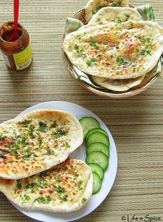 Naan Bread Recipe - Indian Flat Bread using Stove Top Method