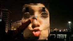 face IT – interactive installation on Vimeo - Interactive projection mapping