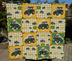 john deere quilt patterns for little boys - Google Search