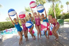 Pandora Indio Invasion: Pandora hosted the third installment of its Indio Invasion, produced by Stoelt Productions. This year's event included aquatic performances from synchronized swimmers the Aqualillies, who posed with branded beach balls.