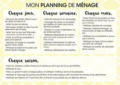 Mod le planning d 39 une semaine de formation exemple - Organisation menage planning ...
