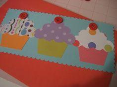 cupcake invite tutorial — The Pleated Poppy
