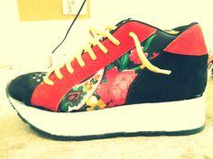 Sneakers. Crazy