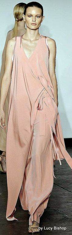 I love a soft flowing pants or dress for an evening out. Sherri bostwick. Juan Carlos Obando Spring Summer 2015