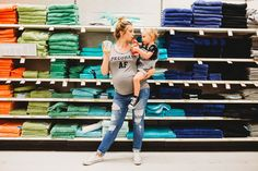 This Target Maternity Photo Shoot Is an Homage to Moms Everywhere Sibling Photos, Maternity Pictures, Pregnancy Humor, Pregnancy Photos, Digital Photography, Photography Poses, Target Maternity, Mommy And Me, Maternity Photography