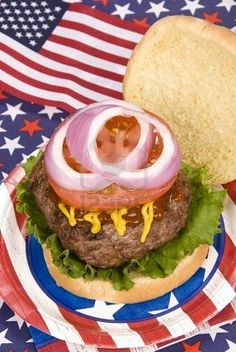 Fourth of july menu ideas - mini burgers (always perfect cat Fourth Of July Food, 4th Of July Celebration, 4th Of July Party, July 4th, Red White And Boom, Making Homemade Ice Cream, Independance Day, Mini Burgers, July Crafts