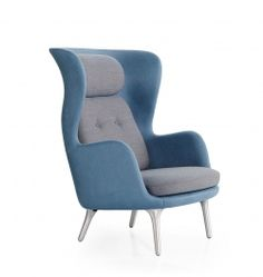 Ro Armchair - дизайнерское кресло для отдыха. Скандинавский стиль. #дизайнерское #кресло #скандинавский #стиль #яркое #современная #мебель #armchair #scandinavian #style