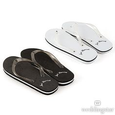 44623fb7eef9 31 Best Just Married Flip Flops   Wedding Flip Flops images
