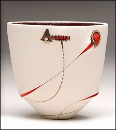 Imiso Ceramics - Scarrified Thabo Bowl