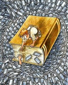 Livros podem salvar vida Satire, Pictures With Deep Meaning, Satirical Illustrations, Meaningful Pictures, Deep Art, Reading Art, World Of Books, I Love Books, Book Lovers