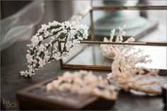 Wedding hair - Tocado de semillas de cera confecionado por Mayte Lucas - Fotografia realizada por Ludo