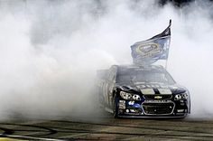 Great shot! 6th champ win.JJ coming out of the smoke 11/17/2013